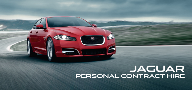Jaguar Contract Hire Page Header