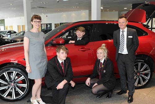 Jaguar Bolton rewards hard work of Harper Green Pupils