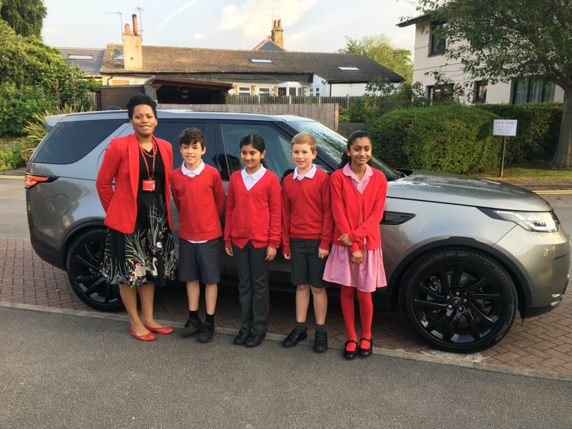 Farnell Jaguar Land Rover Leeds Steps in to Save Kid's Day