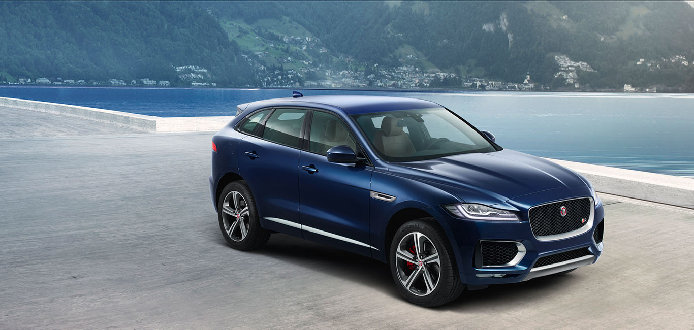 Top Five Features of the Jaguar F-PACE