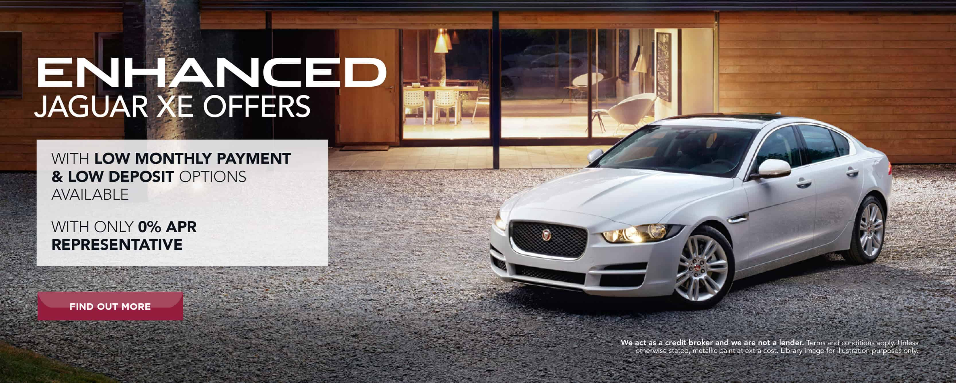 Jaguar enhanced XE offers BB