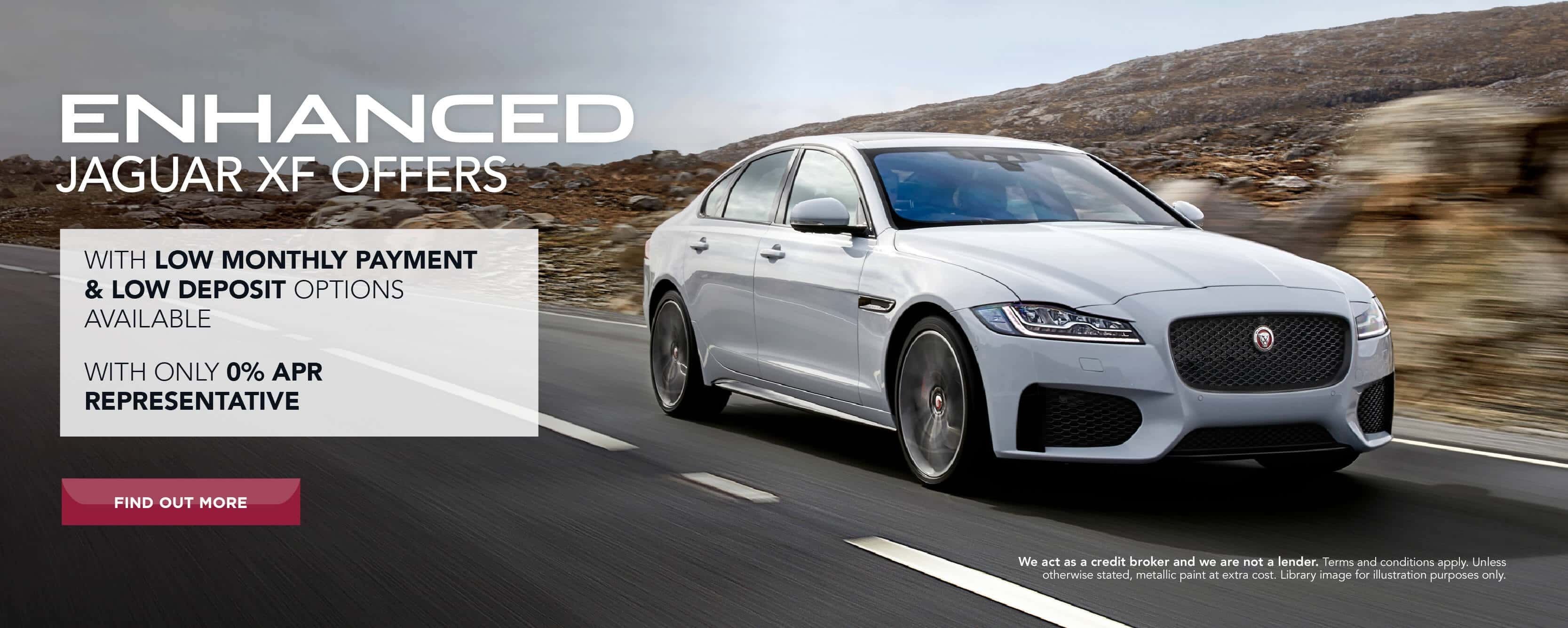 Jaguar enhanced XF offers BB