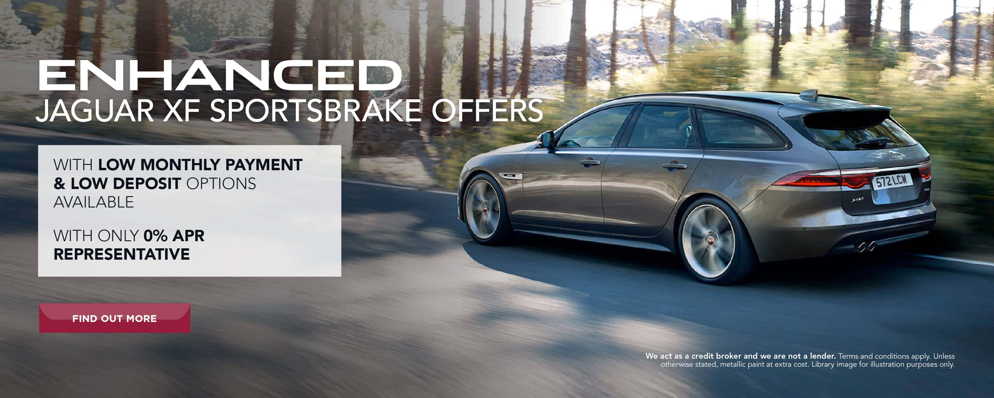 Jaguar enhanced XF Sportsbrake offers BB