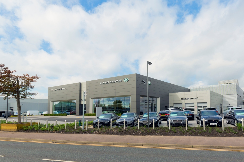 Doors open at �m Farnell Jaguar Land Rover Bolton retailer