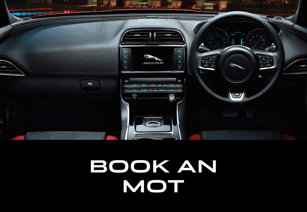 Jaguar Book an MOT