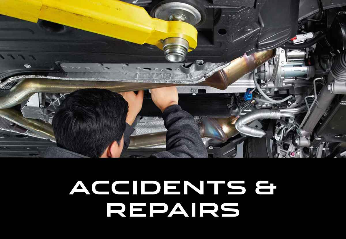 Jaguar Accidents and Repairs