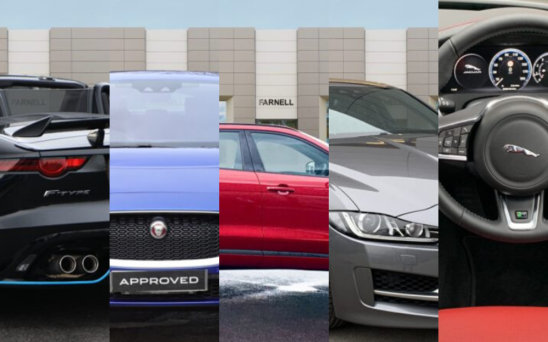 Farnell Jaguar's Top 5 Approved Used Car Picks
