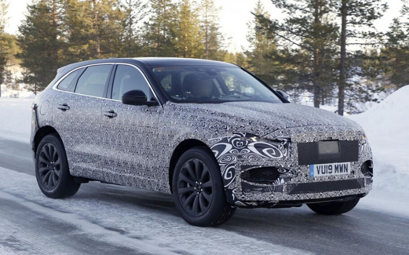 The 2020 Facelifted Jaguar F-Pace Has Been Spotted