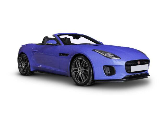 Jaguar F-Type 3.0 [380] S/C V6 Chequered Flag 2dr Auto Petrol Convertible