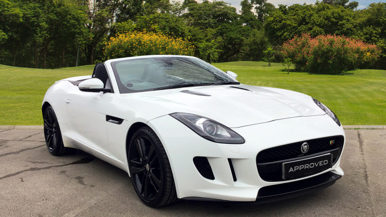 Jaguar F-Type 3.0 Supercharged V6 2dr Auto Petrol Convertible