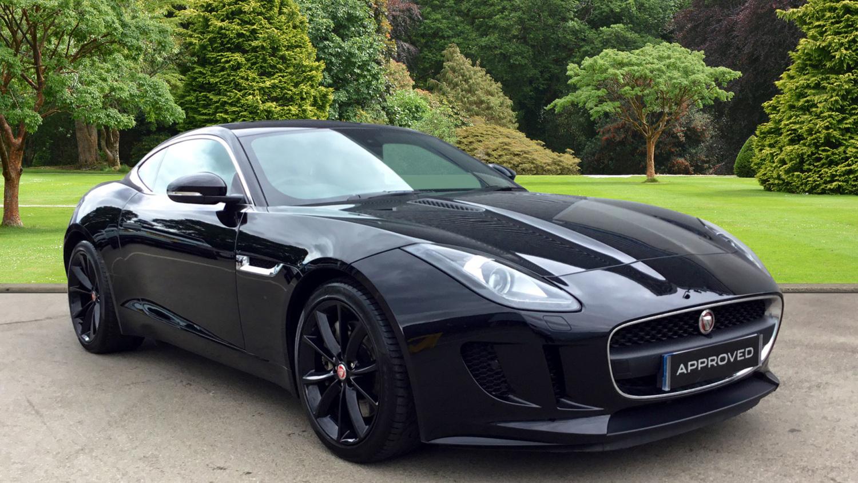 used jaguar f type 3 0 supercharged v6 2dr auto petrol coupe for sale farnell jaguar. Black Bedroom Furniture Sets. Home Design Ideas