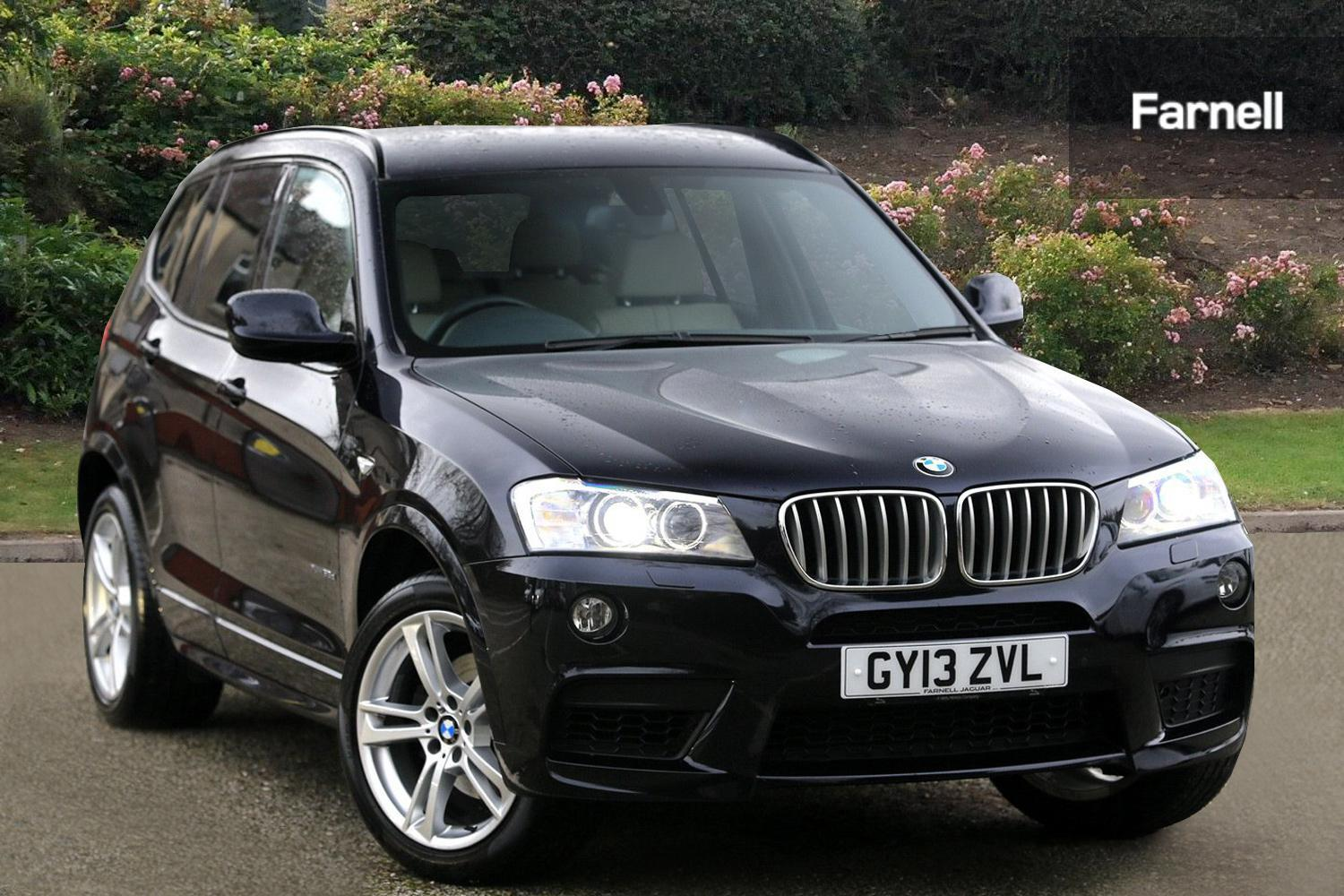used bmw x3 xdrive35d m sport 5dr step auto diesel estate for sale farnell jaguar. Black Bedroom Furniture Sets. Home Design Ideas