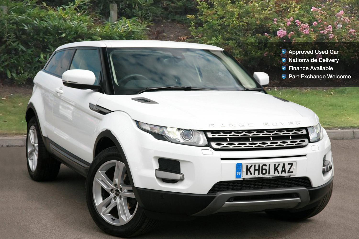 used land rover range rover evoque 2 2 sd4 pure 3dr auto. Black Bedroom Furniture Sets. Home Design Ideas
