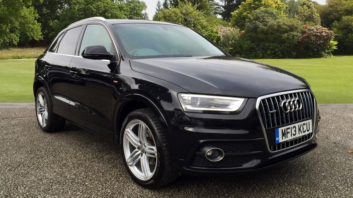used audi q3 2 0 tdi 177 quattro s line 5dr s tronic diesel estate for sale farnell jaguar. Black Bedroom Furniture Sets. Home Design Ideas