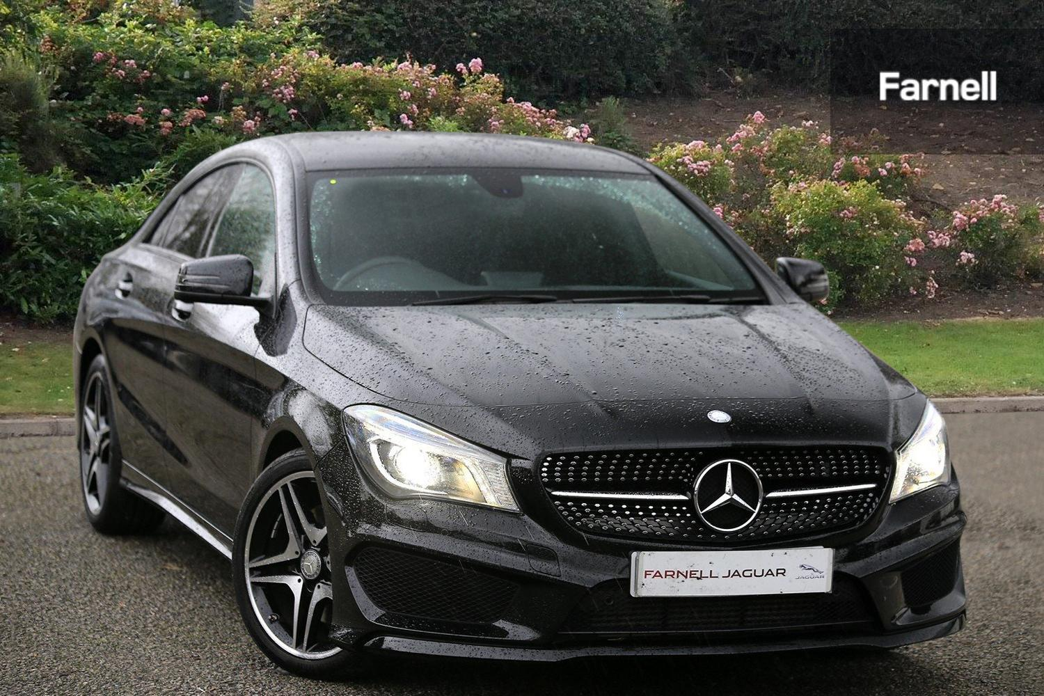 used mercedes benz cla cla 220 cdi amg sport 4dr tip auto diesel saloon for sale farnell jaguar. Black Bedroom Furniture Sets. Home Design Ideas