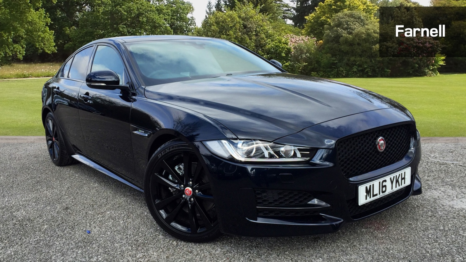 used jaguar xe 2 0d 180 r sport 4dr diesel saloon for sale farnell jaguar. Black Bedroom Furniture Sets. Home Design Ideas