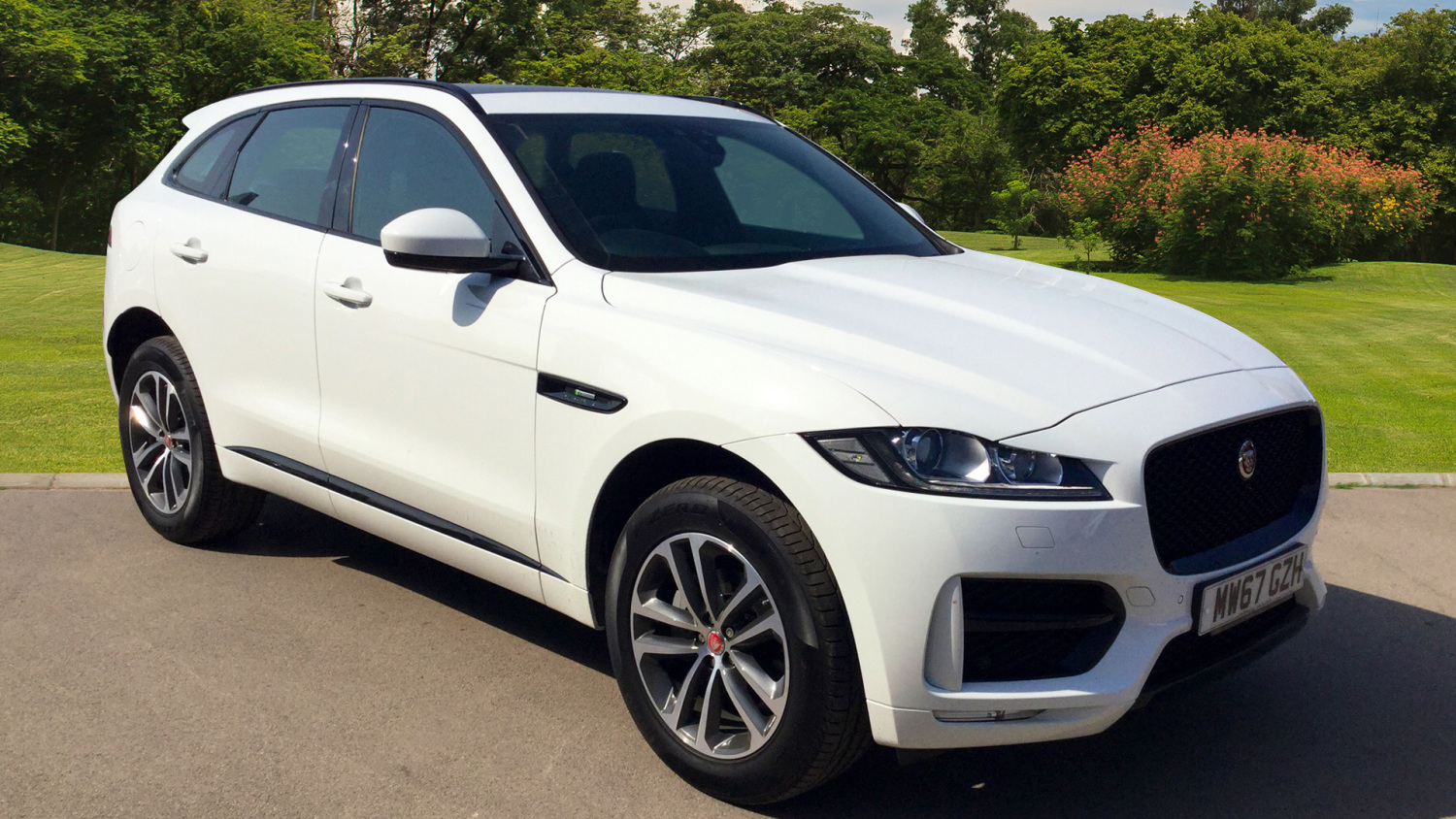 Used Jaguar F Pace 20d R Sport 5dr Auto Awd Diesel Estate For Sale Automatic Headlight Reminder