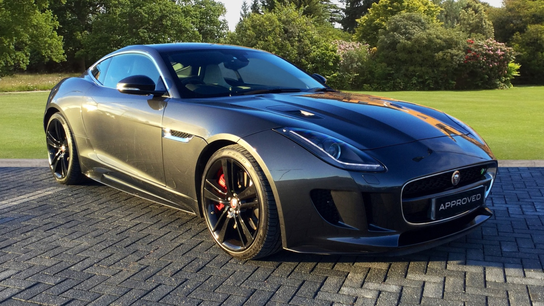 used jaguar f type 5 0 supercharged v8 r 2dr auto awd petrol coupe for sale farnell jaguar. Black Bedroom Furniture Sets. Home Design Ideas