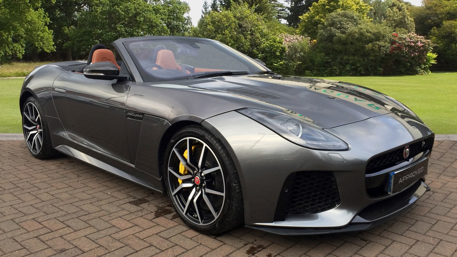 used jaguar f type 5 0 supercharged v8 svr 2dr auto awd petrol convertible for sale farnell jaguar. Black Bedroom Furniture Sets. Home Design Ideas