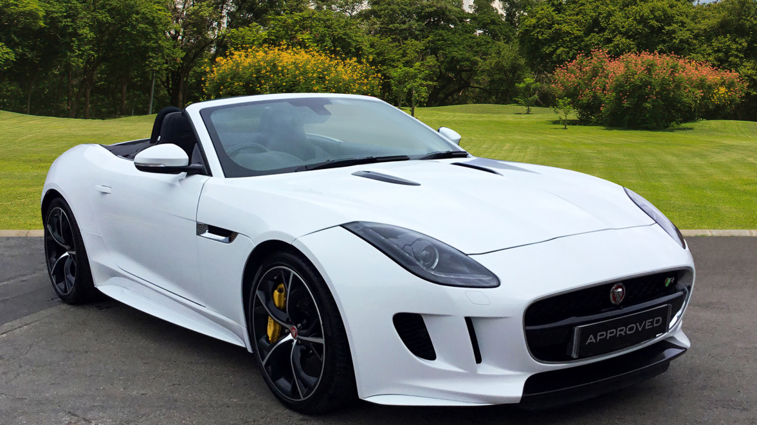 Jaguar F Type 5.0 Supercharged V8 R 2Dr Auto Petrol Convertible
