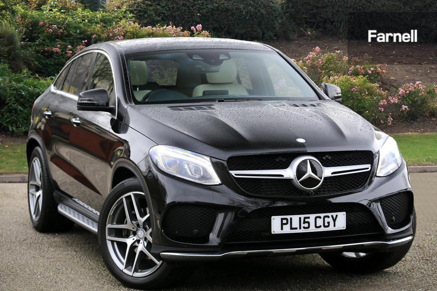 used mercedes benz gle coupe gle 350d 4matic designo line 5dr 9g tronic diesel estate for sale. Black Bedroom Furniture Sets. Home Design Ideas