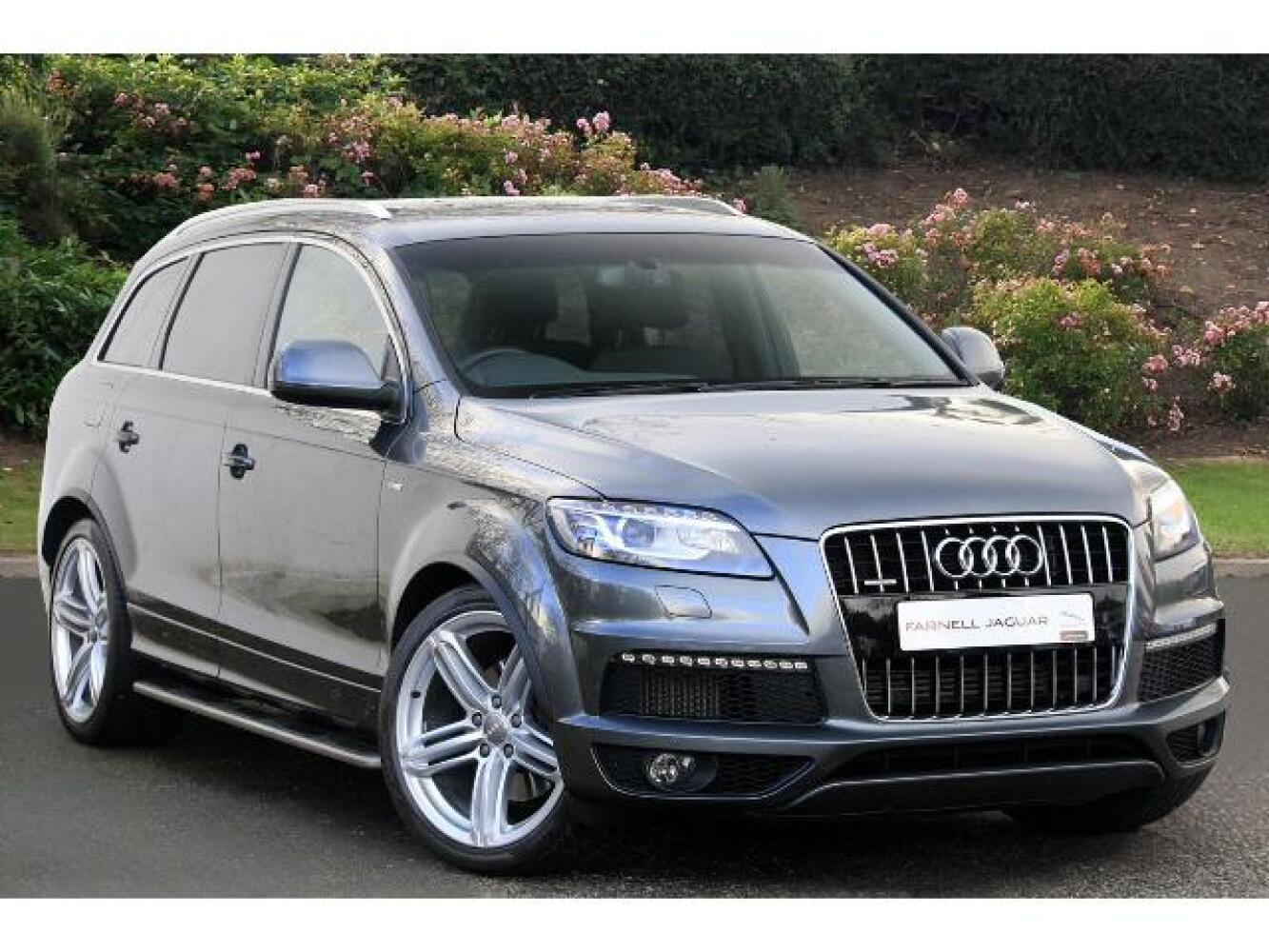 used audi q7 3 0 tdi 245 quattro s line plus 5dr tip auto diesel estate for sale farnell jaguar. Black Bedroom Furniture Sets. Home Design Ideas