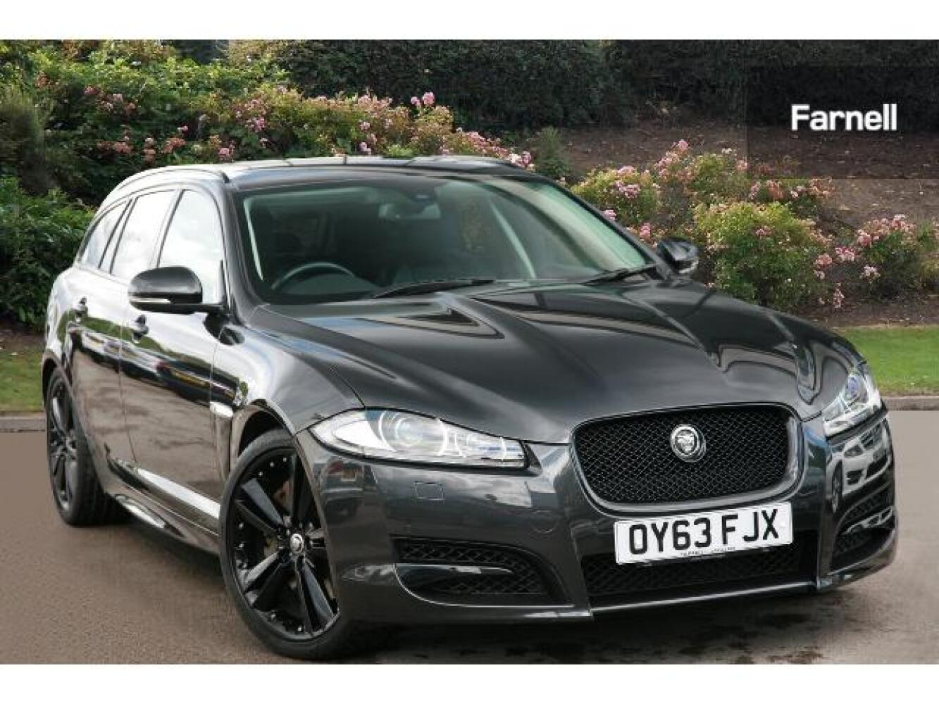 used jaguar xf 3 0d v6 s portfolio 5dr auto diesel estate for sale farnell jaguar. Black Bedroom Furniture Sets. Home Design Ideas