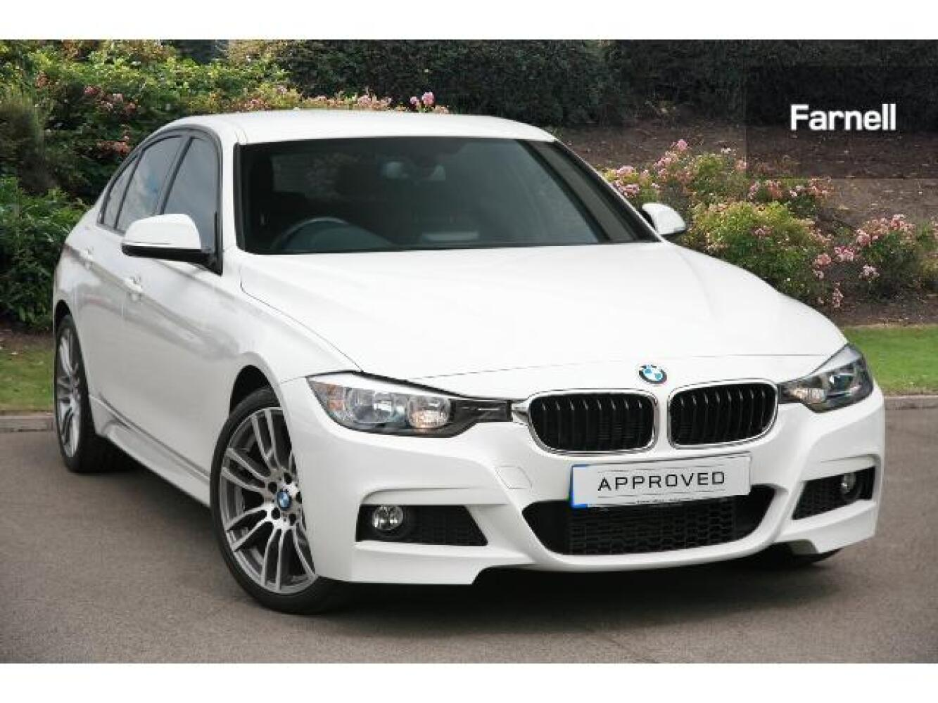 used bmw 3 series 320i xdrive m sport 4dr step auto petrol saloon for sale farnell jaguar. Black Bedroom Furniture Sets. Home Design Ideas