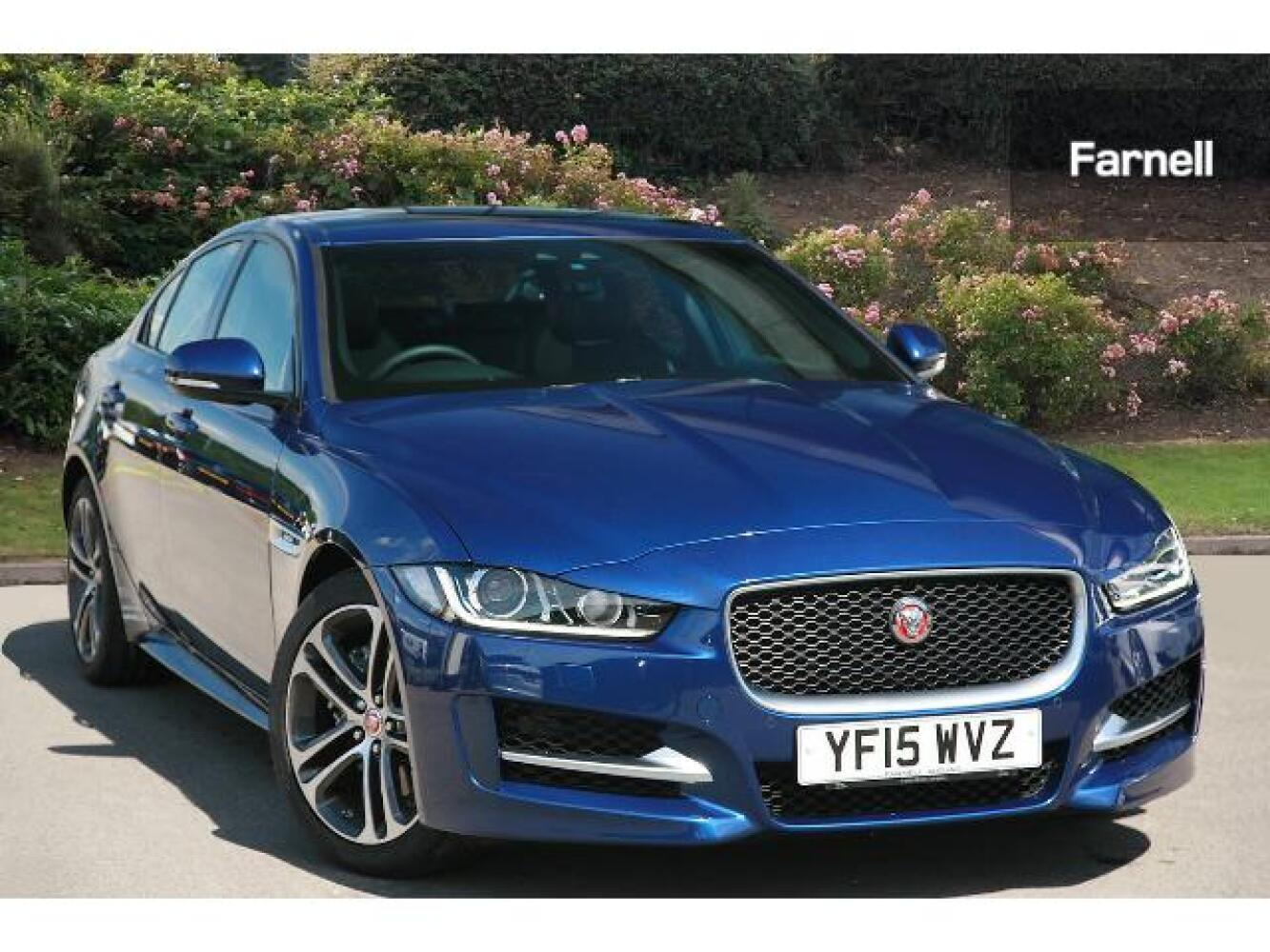 used jaguar xe 2 0d 180 r sport 4dr auto diesel saloon for sale farnell jaguar. Black Bedroom Furniture Sets. Home Design Ideas