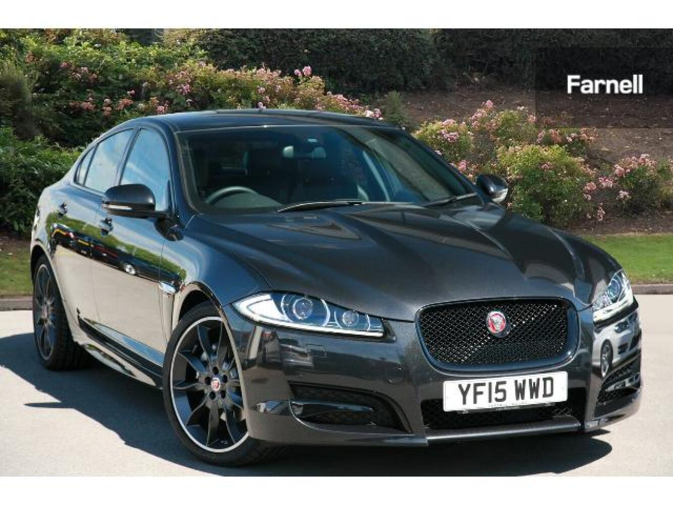used jaguar xf 2 2d r sport black 4dr auto diesel saloon for sale farnell jaguar. Black Bedroom Furniture Sets. Home Design Ideas