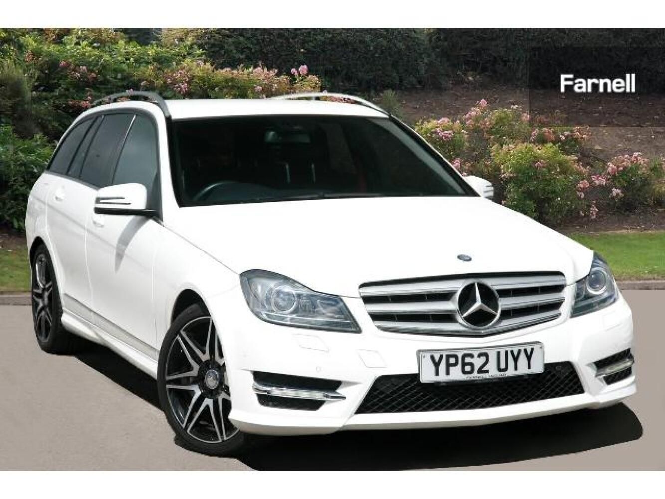 used mercedes benz c class c220 cdi blueefficiency amg sport plus 5dr auto diesel estate for. Black Bedroom Furniture Sets. Home Design Ideas